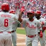 MLB: Jimmy Rollins homers and ties major league record in Philadephia's ...