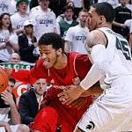 Men's college basketball: Spartans blow shot at first