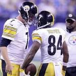 Flawed Steelers' Playoff Hopes Continue to Rest on Ben, Bell and Brown