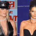 Kendall Jenner Rocked the Same Diamond Choker Britney Spears Wore to the 2002 VMAs