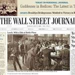 A happy 125th birthday to the Wall Street Journal