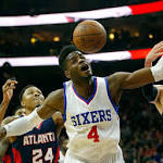 Sixers upend undermanned Hawks, 92-84