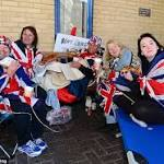 Prince William and Kate Middleton send coffee to royal baby fans at St Mary's ...