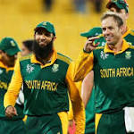 World Cup: AB de Villiers scores 99 as South Africa beat UAE to make quarter ...