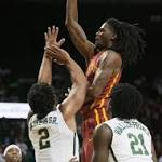 No. 22 Baylor needs late jumper to beat No. 11 Iowa State