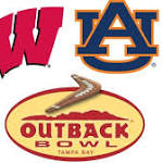 Wisconsin Badgers-Auburn Tigers Outback Bowl pregame notes