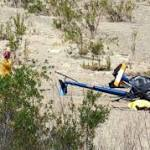 1 dead in Southern California helicopter crash