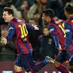 Barça thumps Athletic 5-2 in memorable match