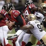 Drew Brees: Atlanta Falcons vs. New Orleans Saints