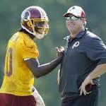 Redskins report: Good marriage for Robert Griffin III, Jay Gruden?