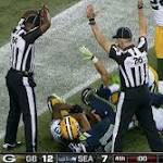 "Seahawks have some fun with ""Fail Mary"" replacement ref"