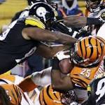NFL: Cincinnati's play-off hopes given setback by AFC North rivals Pittsburgh ...