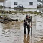Colorado flood: Death toll rises as Clear Creek bank gives way sweeping man ...