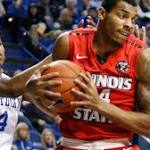 Briscoe Helps No. 1 Kentucky Outlast Illinois State 75-63