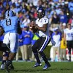 No. 24 Duke beats North Carolina 27-25