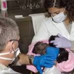 Rare C-section performed on gorilla at San Diego Zoo Safari Park