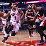 NBA roundup: Rose lifts Bulls over Portland