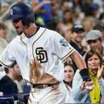 San Diego Padres' Wil Myers will start at DH for National League