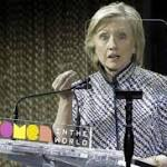 Clinton's announcement energizes left, right