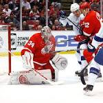 Amazing Mrazek: Red Wings bottle Lightning for 2-1 series lead