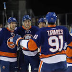 Islanders top Devils in preseason game at Barclays Center