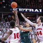 College basketball: Wisconsin's Kaminsky shines in home finale