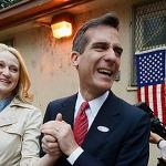 Garcetti and Greuel vie for black Democrats, white Republicans