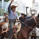 Mexican Protesters Look to Start a New Revolution