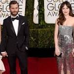 'Fifty Shades of Grey' Stars Jamie Dornan & Dakota Johnson Smolder at the ...
