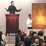 Christie's holds first auction in India