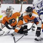 Stamkos, Johnson lead Lightning past Flyers 3-1