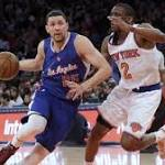Clippers win fifth in a row with 111-80 rout of New York Knicks
