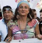 Transgender ex-member of Italy Assembly held in Sochi