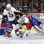 Hammond strong in Senators' return, but Capitals prevail