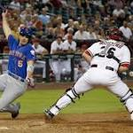 Diamondbacks lose 7-3 to Mets in series opener