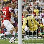 Arsenal v Aston Villa, West Ham v Cardiff and Norwich v Everton in Premier ...