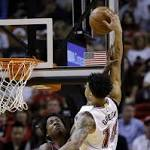 Heat shake off slow first half to top Trail Blazers
