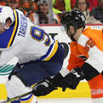NHL on NBCSN: Blues and Flyers continue to fight for their playoff lives
