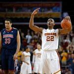 USC Trojans upend No. 11 Arizona Wildcats 89-78