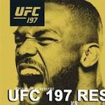 UFC 197 live stream results: 'Jones vs Saint Preux' play-by-play updates