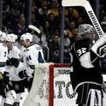Pavelski, Sharks top Kings in Game 1