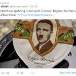 Swiss Supermarket Sells Coffee Cream with Hitler's Face on It