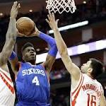 After blowout, Sixers lose heartbreaker to Rockets