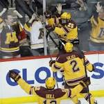 Minnesota Face North Dakota in Frozen Four
