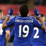 Diego Costa reminds Mourinho no need to worry about Bony
