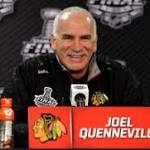 Quenneville agrees to 3-year extension with Blackhawks
