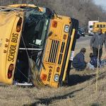 1 dead in Illinois school bus crash, kids OK