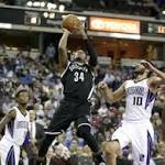 Kings roll struggling Nets to snap five-game skid