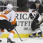 Philadelphia Flyers (41-30-9) at Pittsburgh Penguins (51-24-5), 3 p.m. (ET)