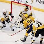 Fiala, Arvidsson score 2 each as Predators beat Penguins 5=1